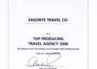 Диплом от The Leading Hotels of the World, Ltd.